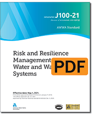AWWA J100-21 Risk and Resilience Management of Water and Wastewater Systems (PDF)