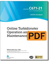 AWWA C671-21 Online Turbidimeter Operation and Maintenance (PDF)