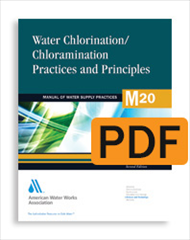 M20 Water Chlorination/ Chloramination Practices and Principles, Second Edition (PDF)