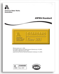 AWWA C512-15 Air Release, Air/Vacuum, and Combination Air Valves for Water and Wastewater Service