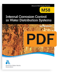 M58 Internal Corrosion Control in Water Distribution Systems, Second Edition (PDF)