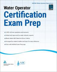 Water Operator Certification Exam Prep