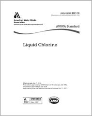 AWWA B301-18 Liquid Chlorine