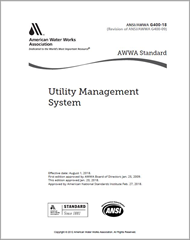 AWWA G400-18 Utility Management System
