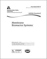 AWWA B130-18 Membrane Bioreactor Systems