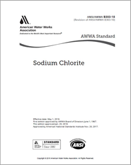 AWWA B303-18 Sodium Chlorite