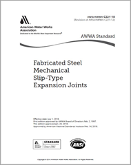 AWWA C221-18 Fabricated Steel Mechanical Slip-Type Expansion Joints