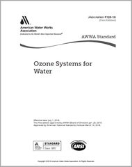 AWWA F120-18 Ozone Systems for Water