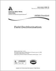 AWWA C655-18 (Print + PDF) Field Dechlorination
