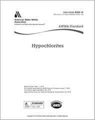 AWWA B300-18 Hypochlorites