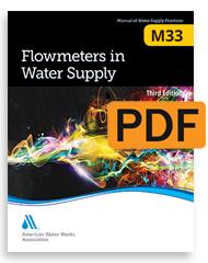 M33 Flowmeters in Water Supply, Third Edition (PDF)