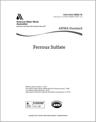 AWWA B402-18 Ferrous Sulfate