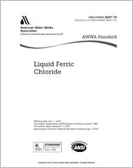 AWWA B407-18  Liquid Ferric Chloride
