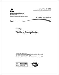 AWWA B506-18 Zinc Orthophosphate