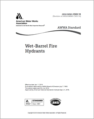 AWWA C503-18 Wet-Barrel Fire Hydrants