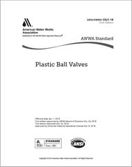AWWA C521-18 Plastic Ball Valves
