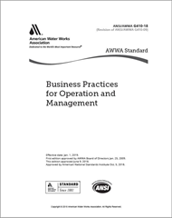 AWWA G410-18 Business Practices for Operation and Management