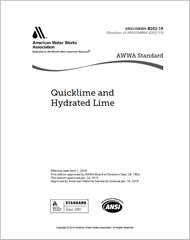 AWWA B202-19 Quicklime and Hydrated Lime