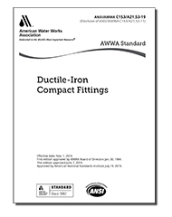 AWWA C153-19 Ductile-Iron Compact Fittings