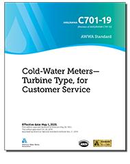 AWWA C701-19 Cold-Water Meters–Turbine Type, for Customer Service
