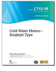 AWWA C712-19 Cold-Water Meters - Singlejet Type