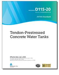 AWWA D115-20 Tendon-Prestressed Concrete Water Tanks