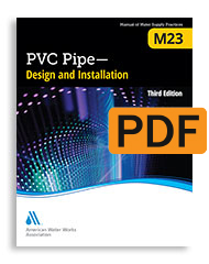 M23 PVC Pipe - Design and Installation, Third Edition (PDF)