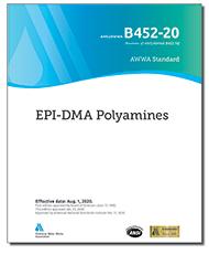 AWWA B452-20 EPI-DMA Polyamines