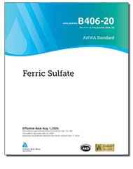 AWWA B406-20 Ferric Sulfate