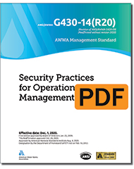 AWWA G430-14(R20) Security Practices for Operation and Management (PDF)