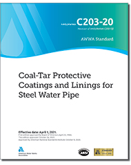 AWWA C203-20 Coal-Tar Protective Coatings and Linings for Steel Water Pipes