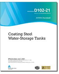 AWWA D102-21 Coating Steel Water-Storage Tanks